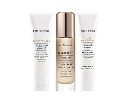 bareMinerals Skinsorials 3-Part Ritual Kit: Normal to Combination Skin