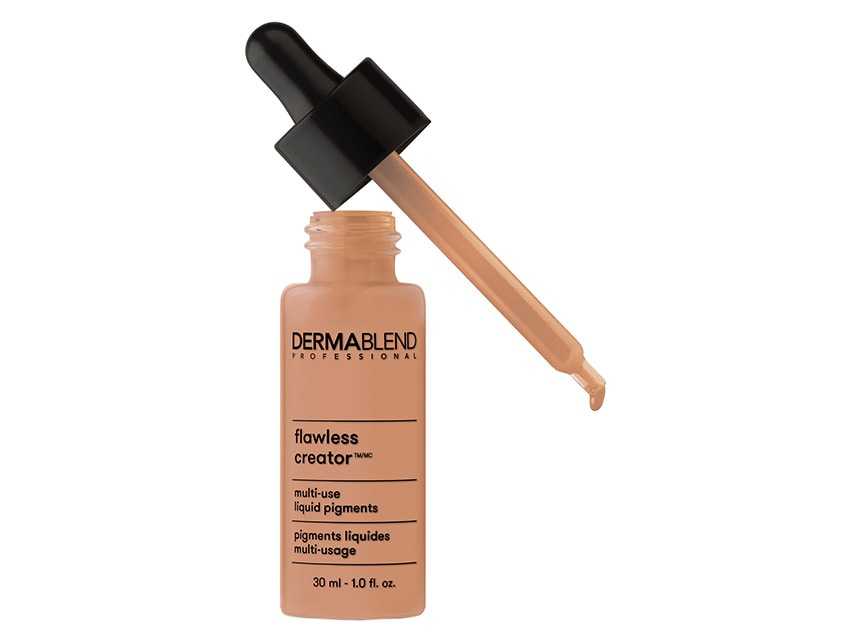 Dermablend Flawless Creator Multi-Use Liquid Pigments in 50W. Dermablend Products. Dermablend Foundation.