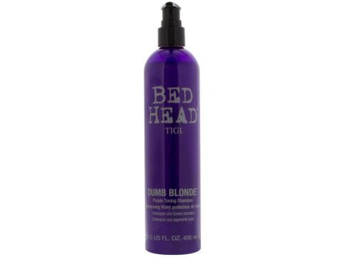 Bed Head Dumb Blonde Purple Toning Shampoo