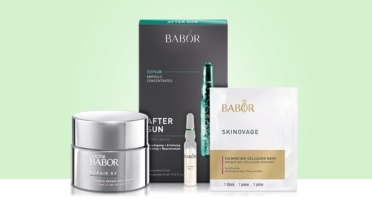 Three Ways to Soothe Post-Sun Skin with BABOR Products