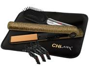 "CHI AIR EXPERT Classic Tourmaline Ceramic Hairstyling Iron 1"" - Limited Edition Golden Sparkle"