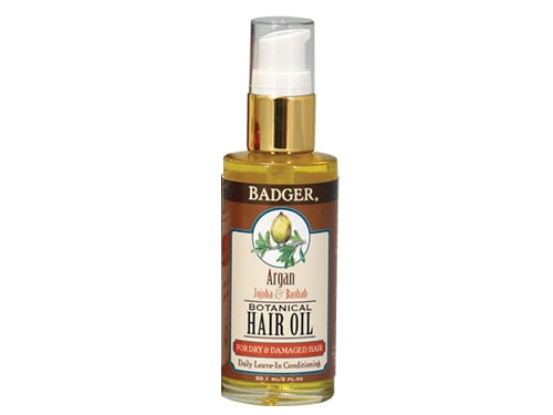Badger Argan Hair Oil for Dry and Damaged Hair