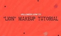 Halloween How-To: Lion Makeup Tutorial