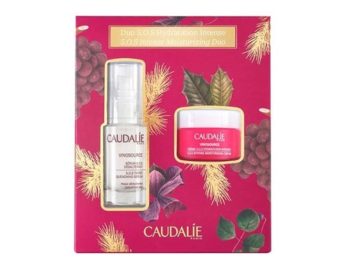 Caudalie SOS Intense Hydration Duo. Skin Care. Moisturizers.