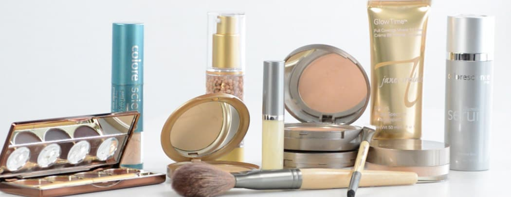 Mineral makeup: for healthy, beautiful skin