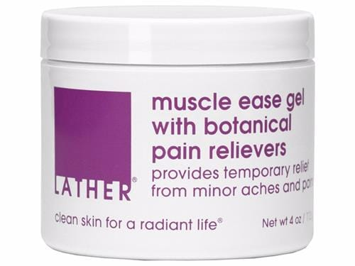 LATHER Muscle Ease with Botanical Pain Relievers