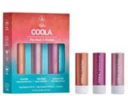COOLA From Beach to Boardroom Tinted Mineral Liplux Trio SPF 30