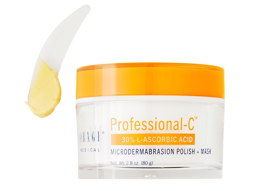 Obagi Professional-C Microdermabrasion Polish + Mask 30%. Facial Treatment. Facial Mask.