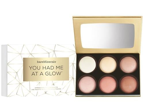 bareMinerals You Had Me At A Glow Face Palette - Limited Edition