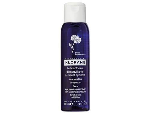 Klorane Floral Lotion Eye Make-up Remover with Soothing Cornflower - 100 ml