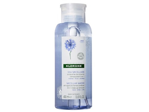 Klorane Floral Water Make-Up Remover with Soothing Cornflower - 13.52 fl oz