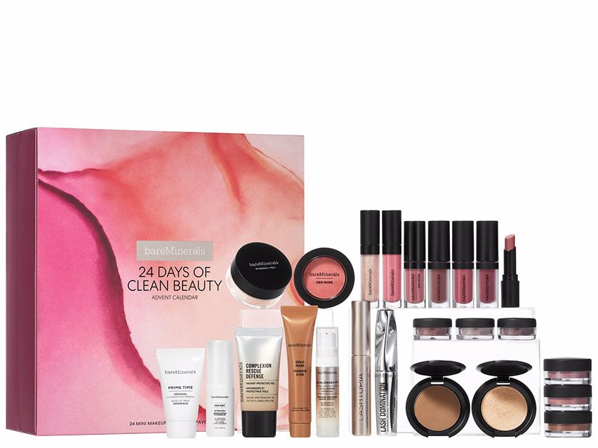 bareMinerals 24 Days of Clean Beauty. Makeup. Holiday Gift Set.