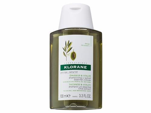 Klorane Shampoo with Essential Olive Extract - Travel Size