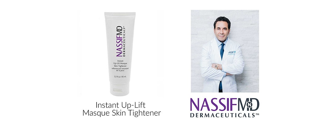 NassifMD Dermaceuticals Instant Up-Lift Masque Skin Tightener