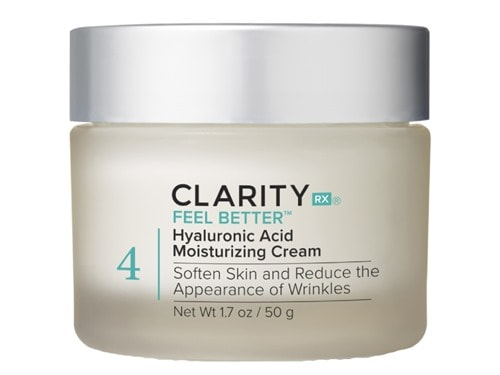 ClarityRx Feel Better Hyaluronic Acid Moisturizing Cream