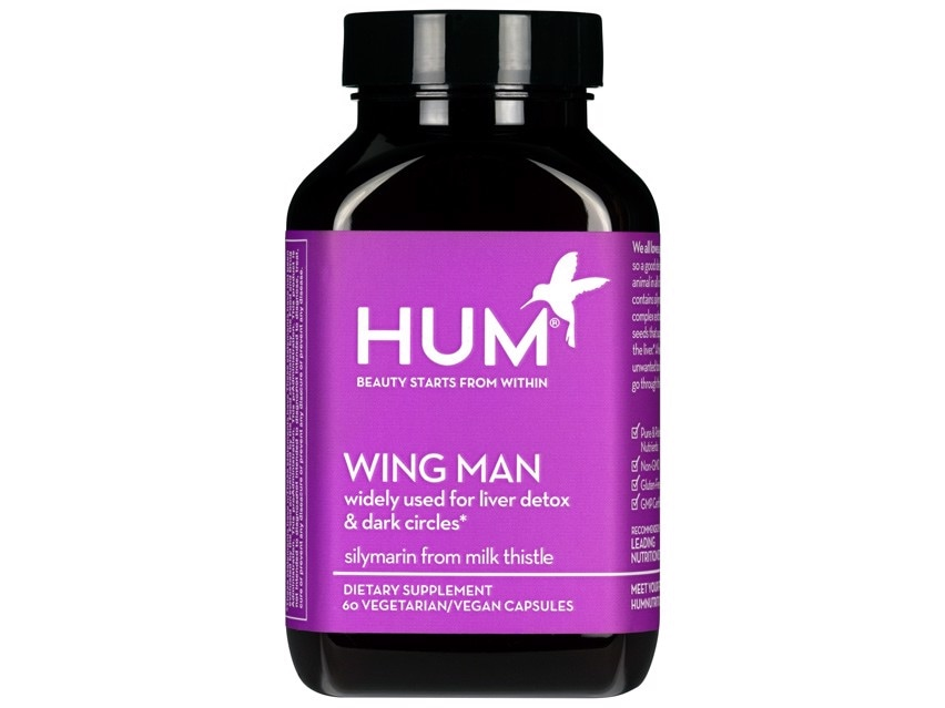 Vitamins and supplements. HUM Nutrition Wing Man Dietary Supplement.
