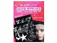 GLAMGLOW Selfie-Approved Cleanse + Glow Sheet Mask Trio - Limited Edition