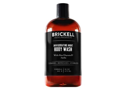 Brickell Invigorating Mint Body Wash