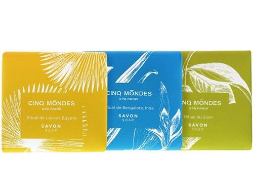 Cinq Mondes Aromatic Soap Set