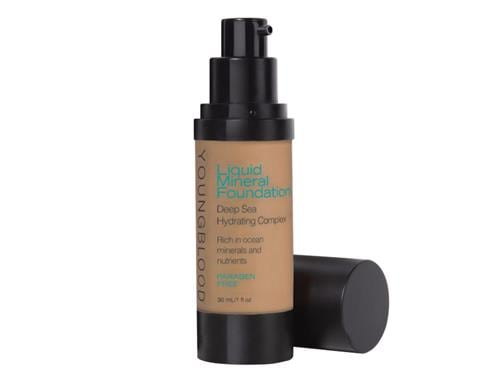 YOUNGBLOOD Liquid Mineral Foundation - Caribbean