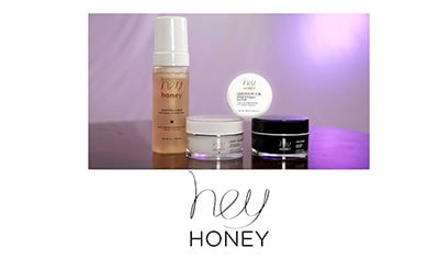 Pampering with Hey Honey