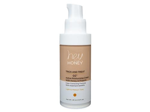 Hey Honey Trick and Treat CC2 Active Moisturizing Cream with Honey & Propolis - Light to Medium