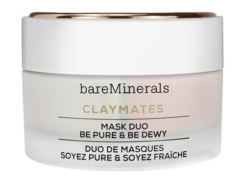 bareMinerals ClayMates Mask Duo: Be Pure & Be Dewy