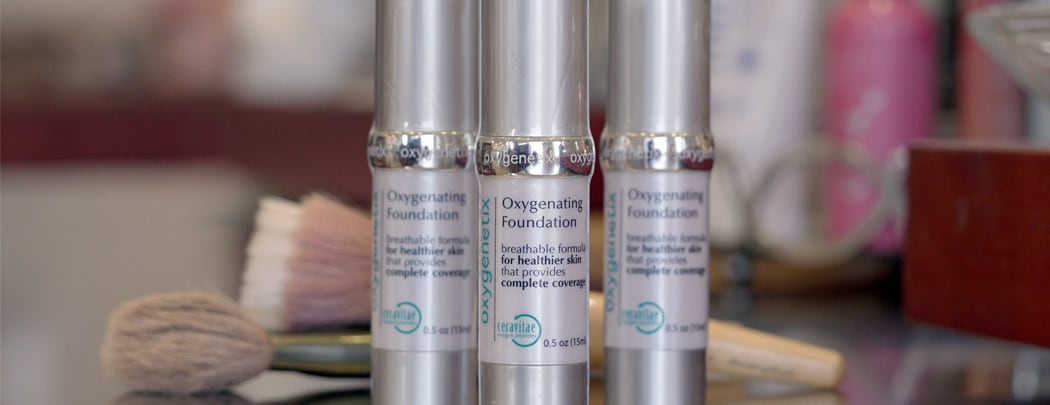 Learn about Oxygenetix makeup with LovelySkin!
