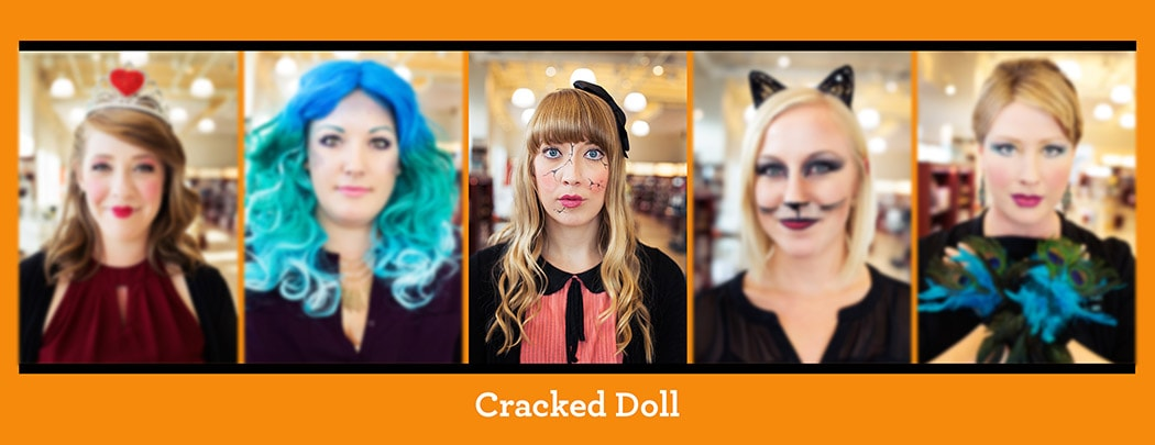 Halloween Tutorial - Cracked Doll