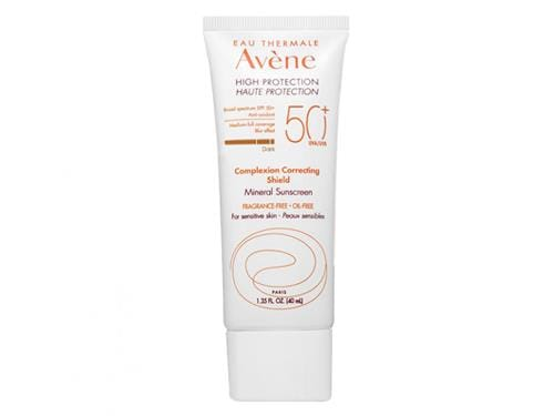 Avene High Protection Complexion Correcting Shield SPF 50+ - Dark