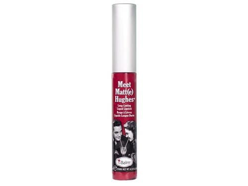 thebalm Meet Matte Hughes Liquid Lipstick - Romantic - True Berry