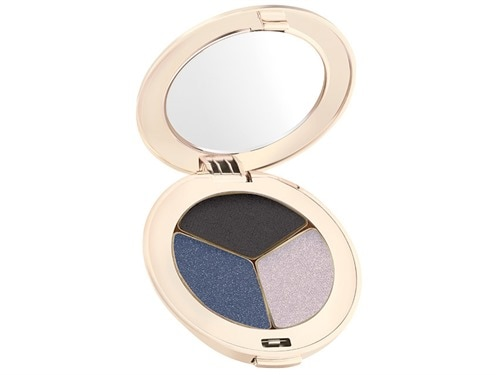 jane iredale PurePressed Eye Shadow Triple - Blue Hour