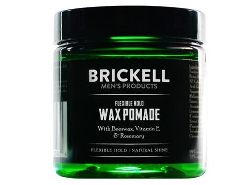 Brickell Flexible Hold Wax Pomade