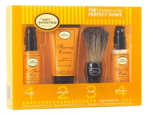 The Art of Shaving The 4 Elements Starter Kit - Lemon