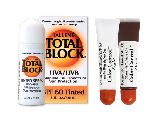 Fallene Total Block Sunscreen Tinted SPF 60