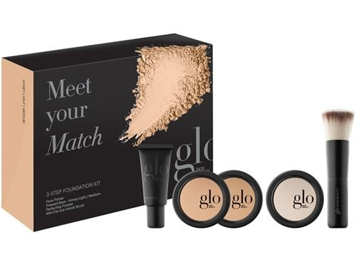 Glo Skin Beauty Meet Your Match 3-Step Foundation Kit - Honey Light/Medium