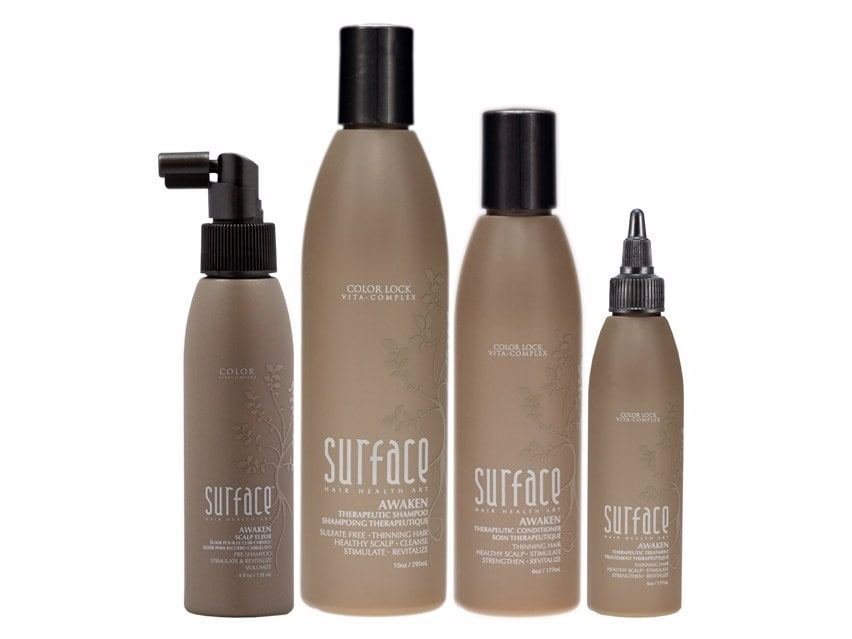 Surface Awaken Box Set. Hair Care. Shampoo. Conditioner. Hair Treatment. Thinning Hair. Oily Scalp.