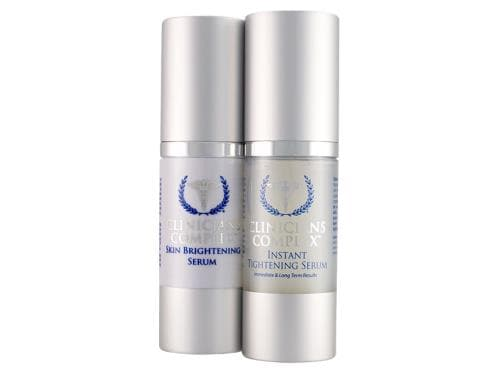 Clinicians Complex Skin Brightening Serum & Instant Tightening Serum Duo