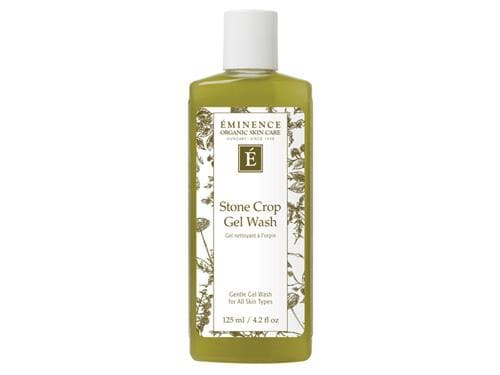 Eminence Stone Crop Gel Wash: use this Eminence cleanser on sensitive skin.