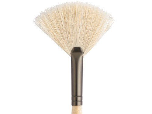 Jane Iredale White Fan Makeup Brush