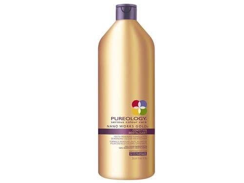 Pureology Nano Works Gold Conditioner - Liter