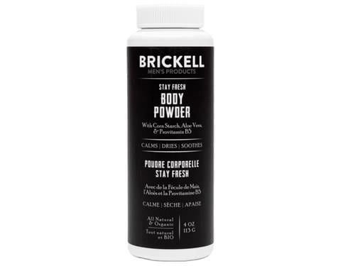 BRICKELL MENS PRODUCTS Stay Fresh Body Powder