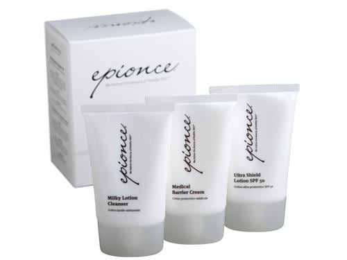 Epionce Skin Barrier Repair Kit with an Epionce cream